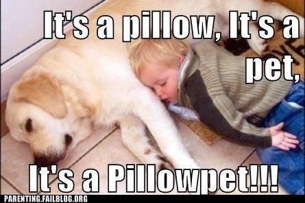 baby dogs pet Pillow pillowpet sleeping - 6179975168