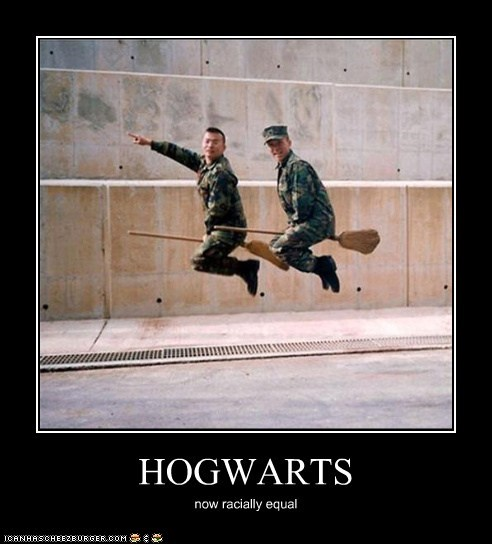 HOGWARTS now racially equal