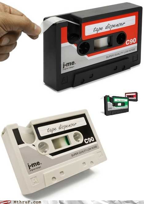 cassette tape g rated Hall of Fame monday thru friday scotch tape tape tape dispenser