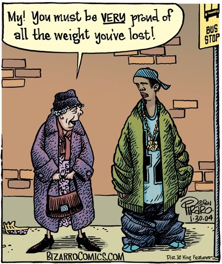 cartoons comic saggy weight