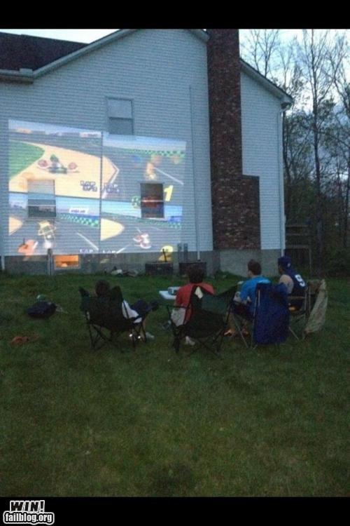 Mario Kart nerdgasm nintendo 64 nostalgia projector video games - 6180459776