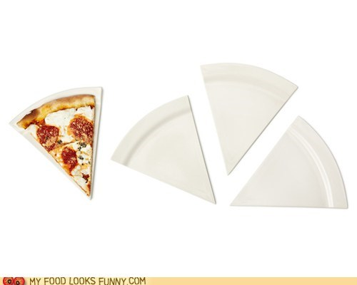 edge pizza plate slice wedge