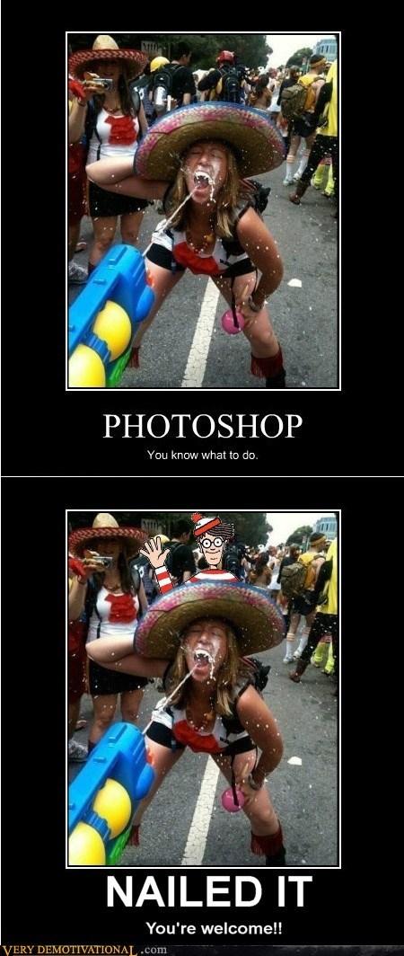 good idea hilarious Nailed It photoshop waldo - 6180942592