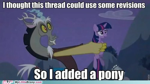 discord magic meme pony thread twilight sparkle - 6181010688