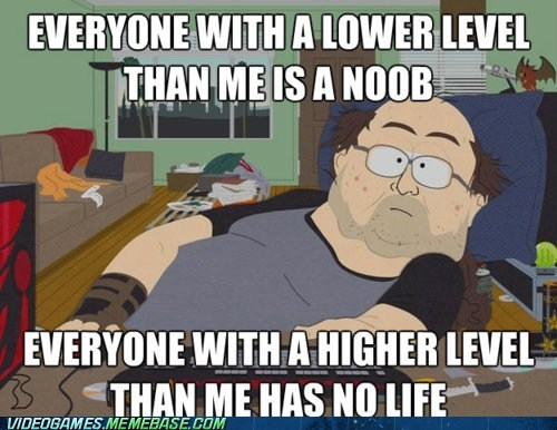 gamers logic makes no sense meme no life noob why-cant-we-get-along - 6181036800