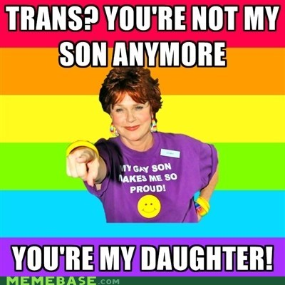 daughter gay Memes mom pride son trans - 6181240320