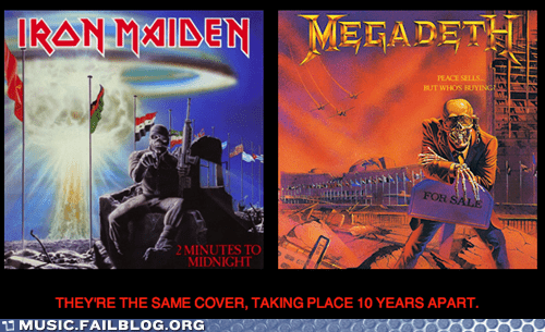 iron maiden,megadeth,metal,two minutes to midnight