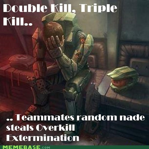 extermination halo kill stealing medals overkill the feels - 6181795328