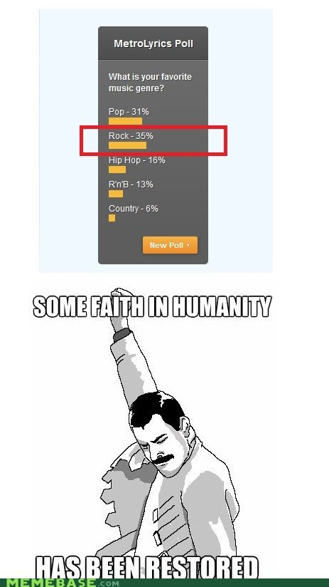 Music,Rage Comics,rock,some faith in humanity