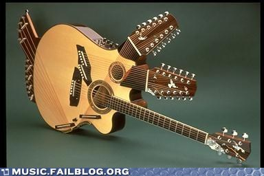 complicated guitar instrument wtf - 6181855744