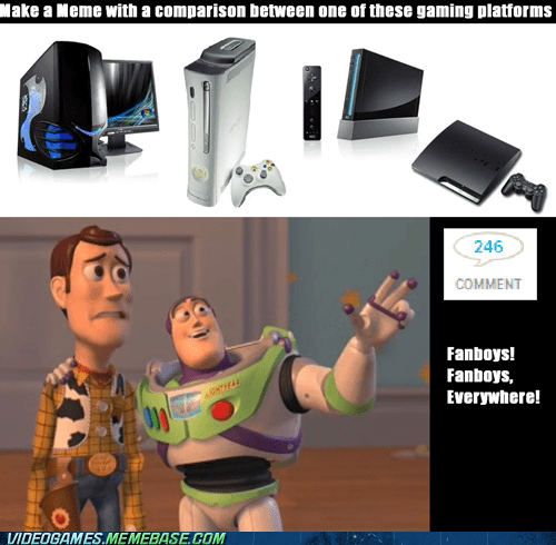 comments,complaints,consoles,fanboys,flamewars,PC,the internets