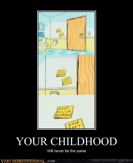 cartoons ed edd and eddy note post it Terrifying
