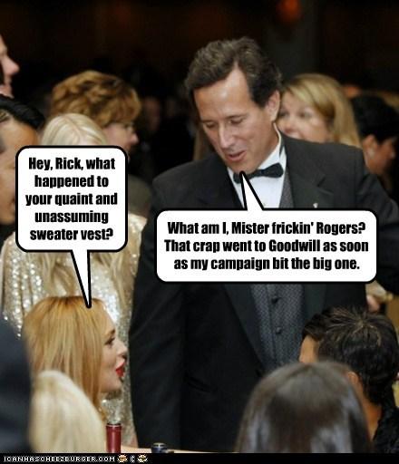 lindsay lohan political pictures Rick Santorum - 6182576640