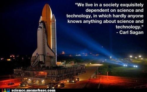 carl sagan,Professors,technology,wise