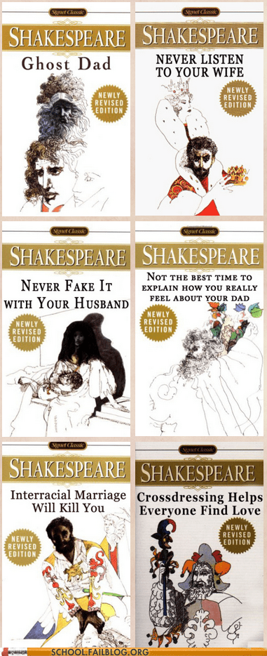 better book titles more realistic names plays shakespeare - 6183632384