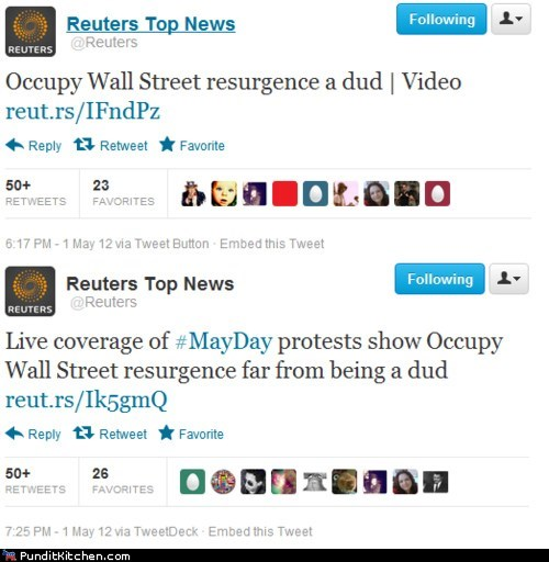 May Day political pictures protests twitter