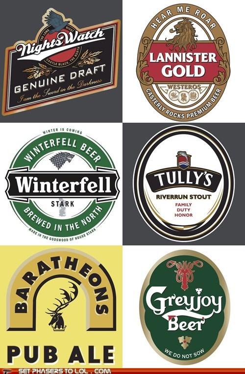 beer best of the week Game of Thrones starks Westeros winterfell wordplay - 6183744768