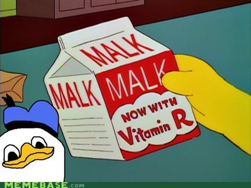 dolan favorite simpsons joke malk Memes simpsons vitamin r - 6183814144