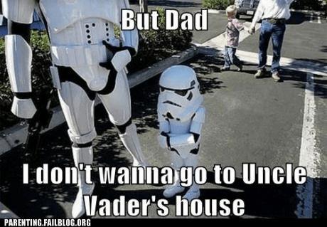 darth vader star wars stormtrooper kids - 6183934976