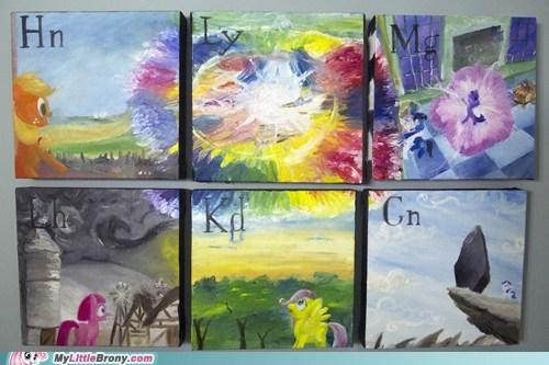 art elements of harmony IRL painting - 6184073216