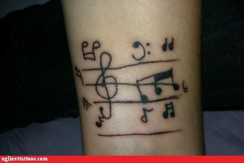 accidentals,Music,music score,musical notes,treble clef