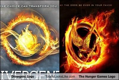 divergent funny logo Movie hunger games - 6184275712