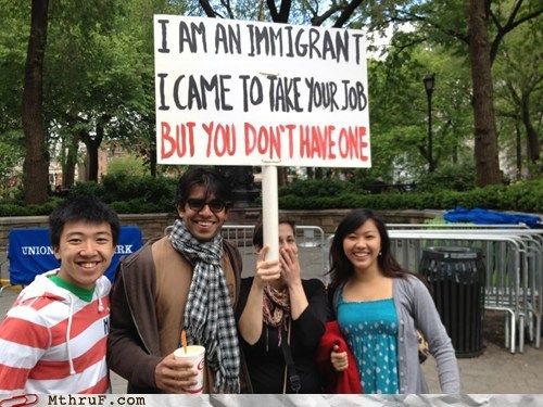foreigners Hall of Fame immigrants immigration job losing jobs rednecks - 6184293376