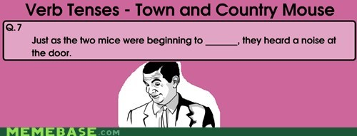 town,country,noise,verbs,fill in the blank,mouse