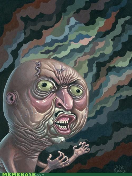 art Fan Art gross weird Y U No Guy - 6184299008
