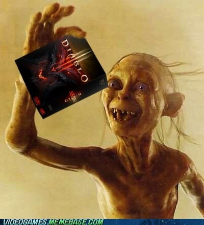 cant-wait diablo 3 gollum may 15 PC Precious - 6184408576