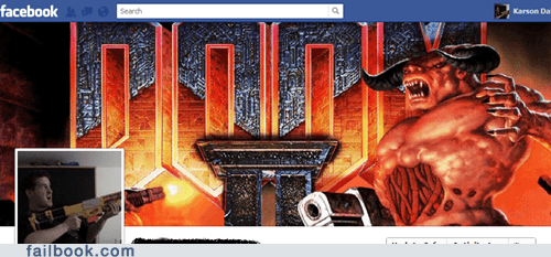cover photo,doom,timeline,video games