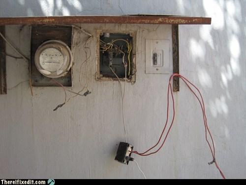electricity phone wires wiring - 6184489984
