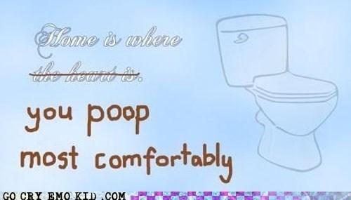 hipsterlulz,home sweet home,poop,toliet