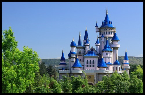 castle,fairy tale,Forest,Hall of Fame,Turkey