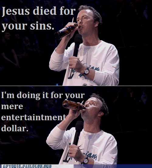 beer,doug stanhope,entertainment,jesus,sins,stand-up comedy