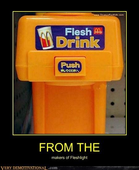 drink eww flesh gross McDonald's Terrifying wtf - 6184717312