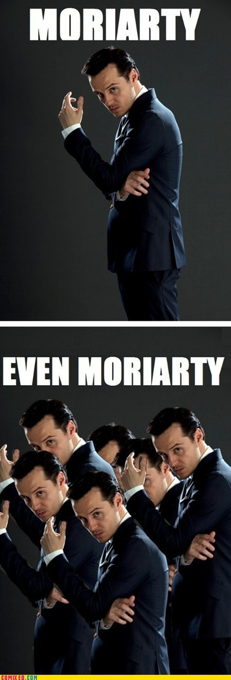 best of week professor moriarty pun Sherlock TV