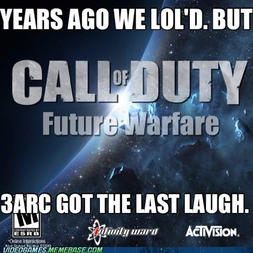 black ops II call of duty future warfare meme treyarch - 6184825856