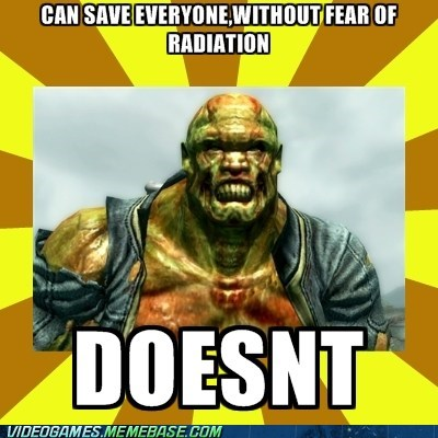 fallout 3,fawkes,meme,radiation
