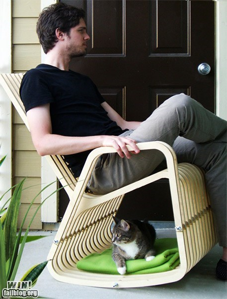 cat chair design pets rocking chair - 6184955648