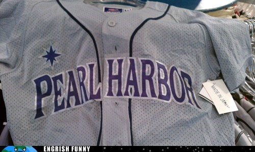 baseball baseball uniform Japan japanese baseball pearl harbor uniforms - 6184987904