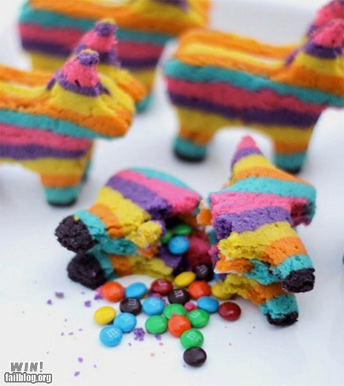 candy cinco de mayo cookies food Hall of Fame pinata - 6184991744