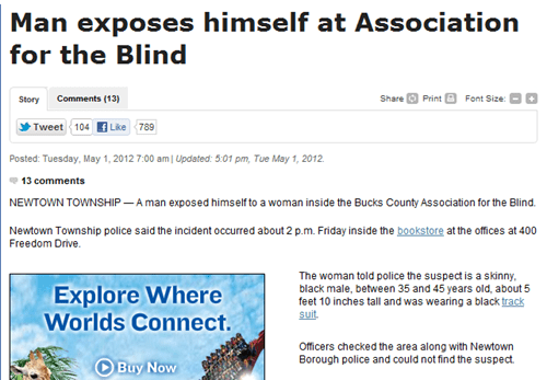 association for the blind flasher probaby-bad-news - 6185002752
