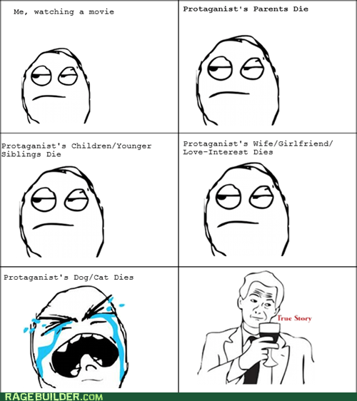 movies,pets,protagonist,Rage Comics,true story