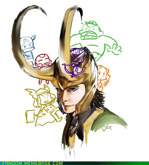 avengers comics Fan Art loki movies summer blockbusters - 6185437696