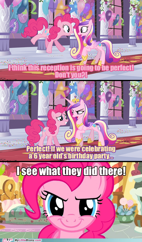 cadance comic comics I see what you did there Party pinkie pie - 6185439744
