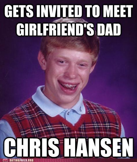 bad luck brian Chris Hansen to catch a predator