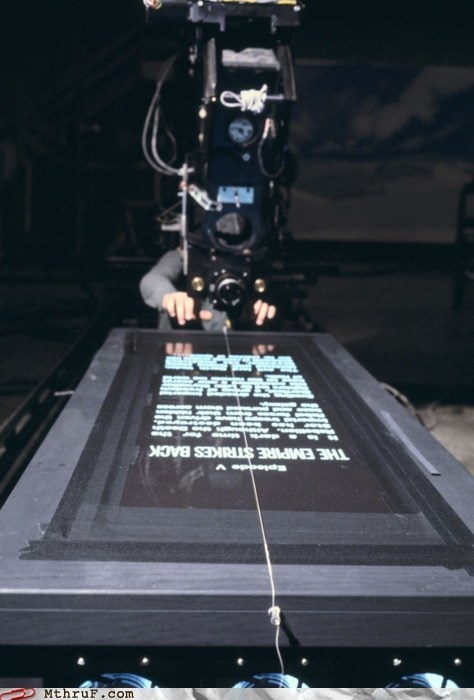 opening credits opening scroll star wars The Empire Strikes Back