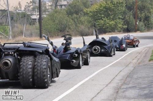 batman batmobile driving nerdgasm super heroes