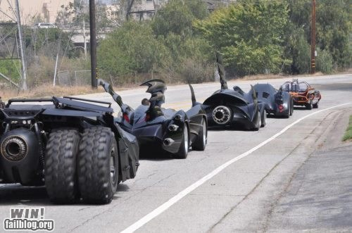 batman batmobile driving nerdgasm super heroes - 6185821952